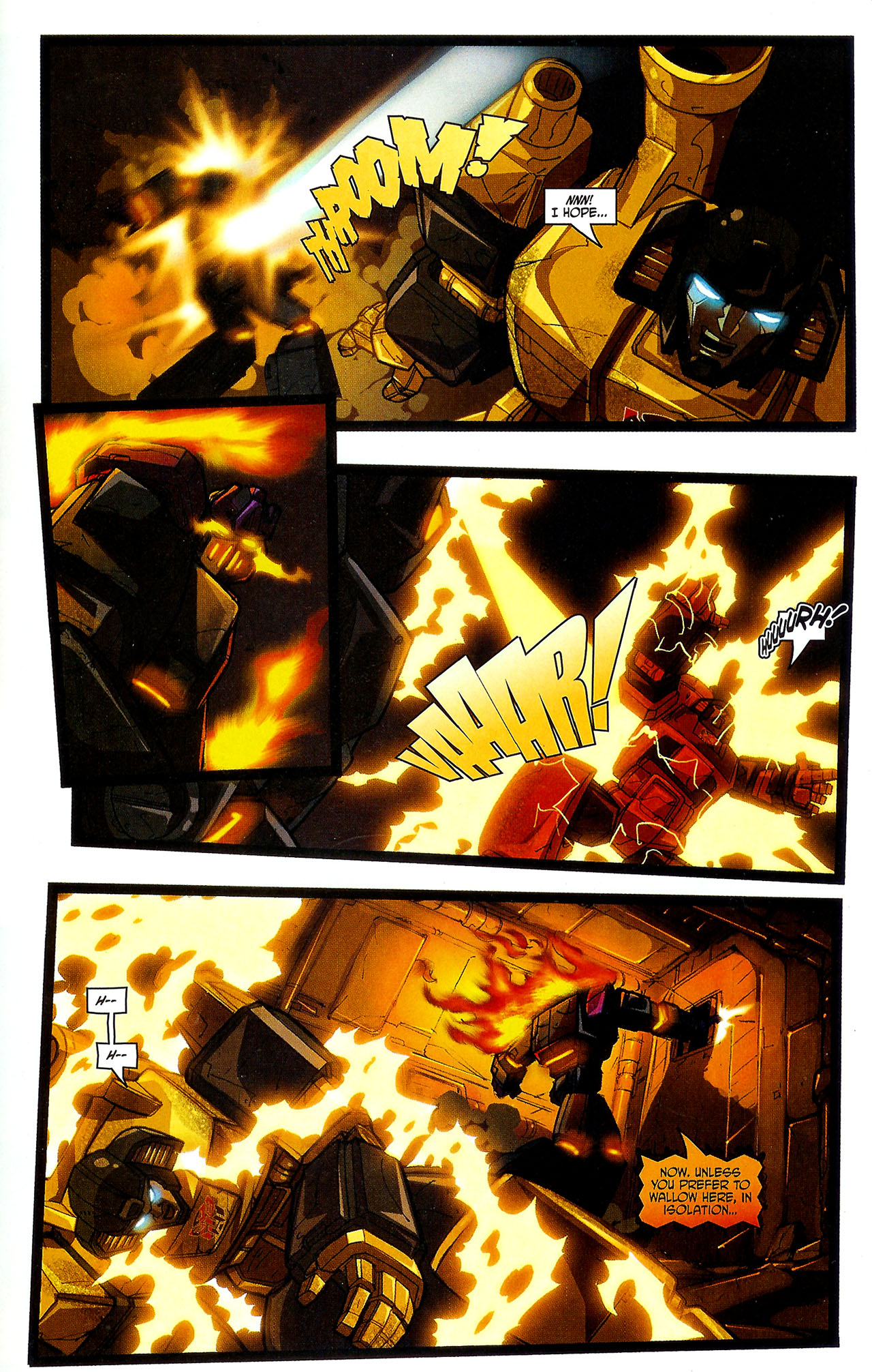"""Read online Transformers War Within: """"The Dark Ages"""" comic -  Issue #5 - 17"""