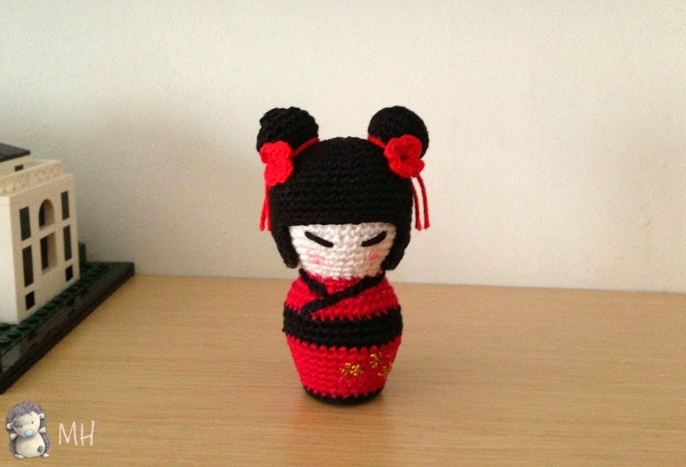 Little Kokeshi amigurumi