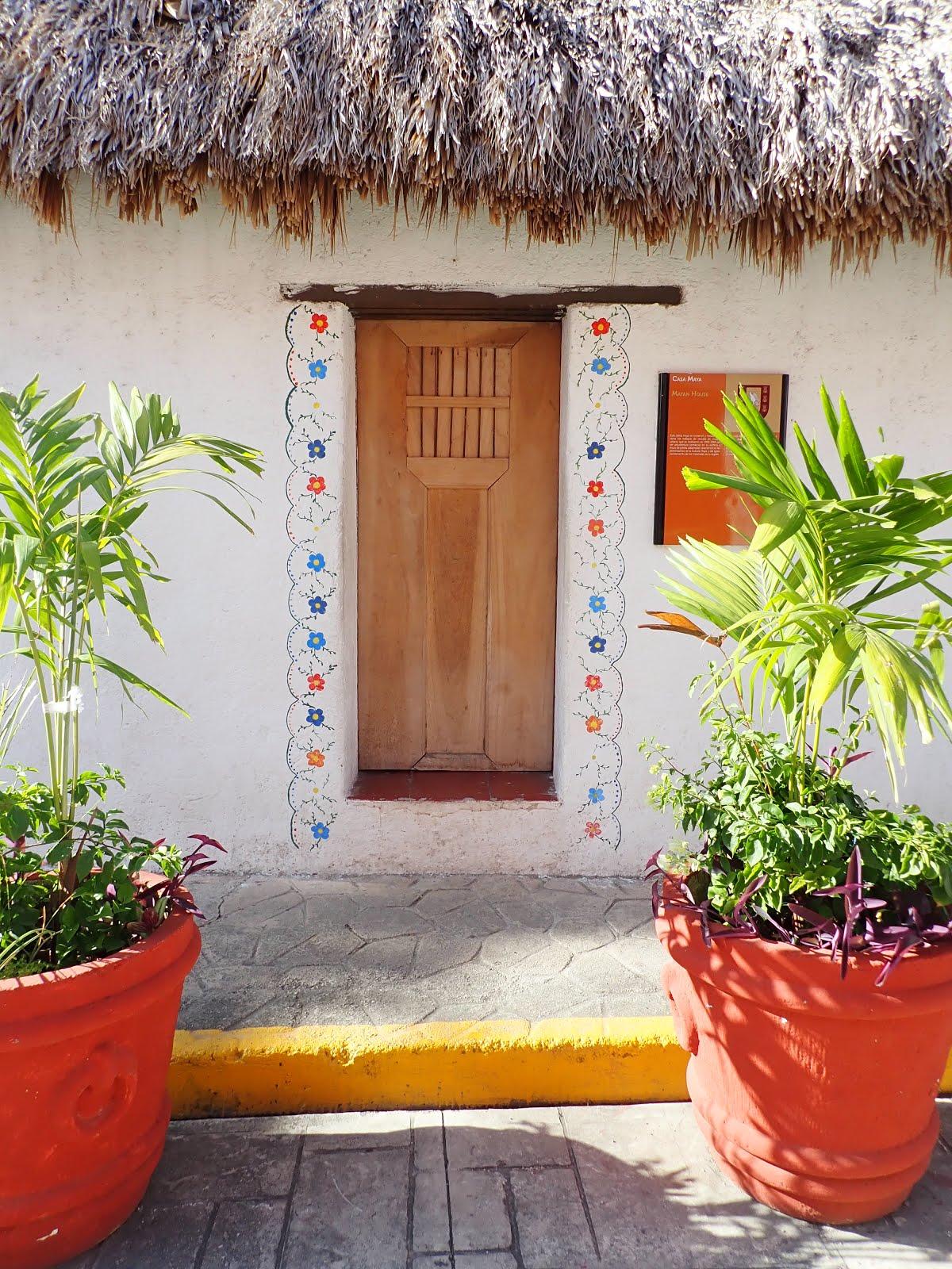 la casa maya à valladolid au mexique