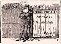 Caricatura de Leopoldo II y el Congo