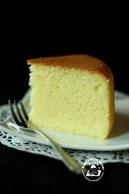 Sponge Cake For A  Inch Tin