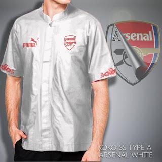 Baju Koko muslim Arsenal murah