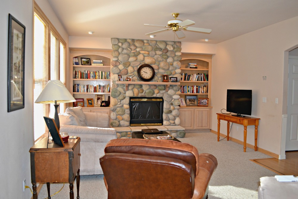 Updating a 90's Living Room in a Model Home - Rachel Teodoro on 90 Room  id=97581