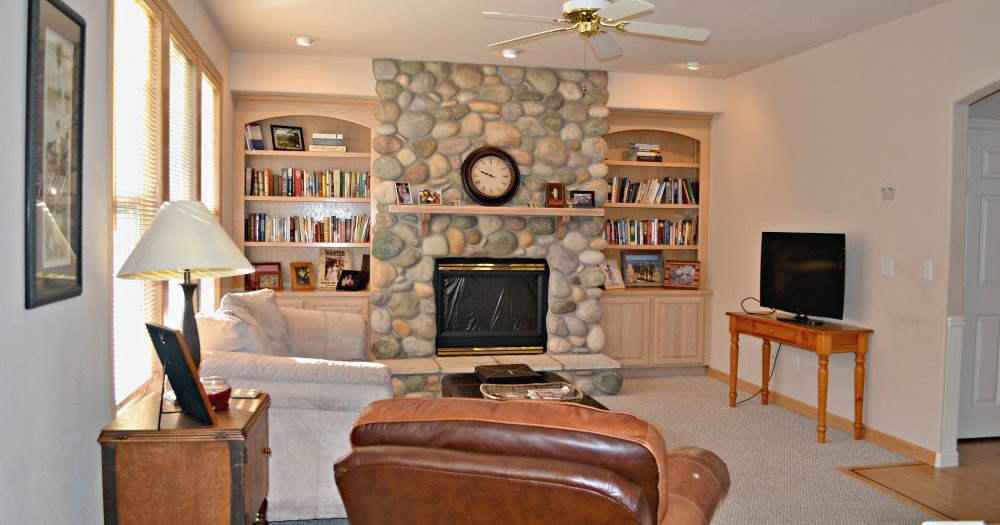 Updating a 90 39 s living room in a model home rachel teodoro for Living room 90s