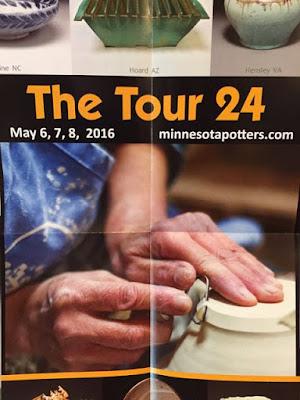 2016 Potters Tour poster