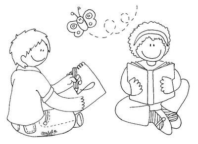 Desenhos Para Imprimir E Colorir Dia Do Livro Mundinho Da Crianca