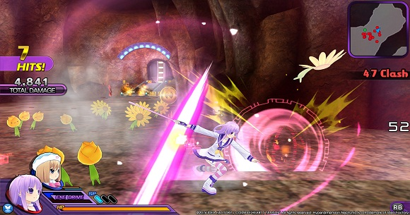 Hyperdimension Neptunia U Action Unleashed PC Full Version Screenshot 1