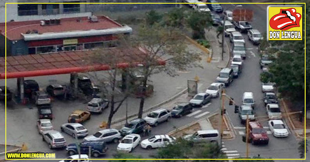 Venezuela espera un caos muy pronto cuando se acabe la gasolina que tenemos de reserva