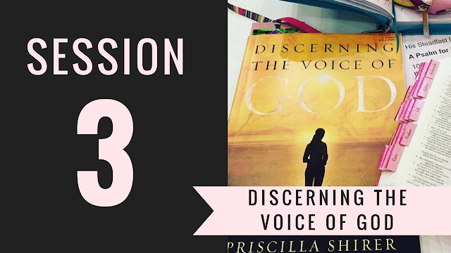 Session 3 - Discerning the Voice of God Bible Study