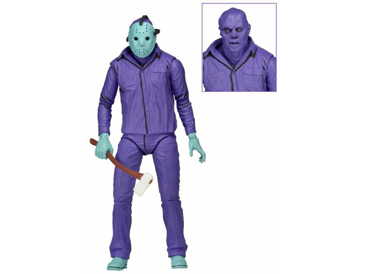 FRIDAY THE 13th JASON/'S DOUBLE BIT AXE ACTION FIGURE ACCESSORY NECA