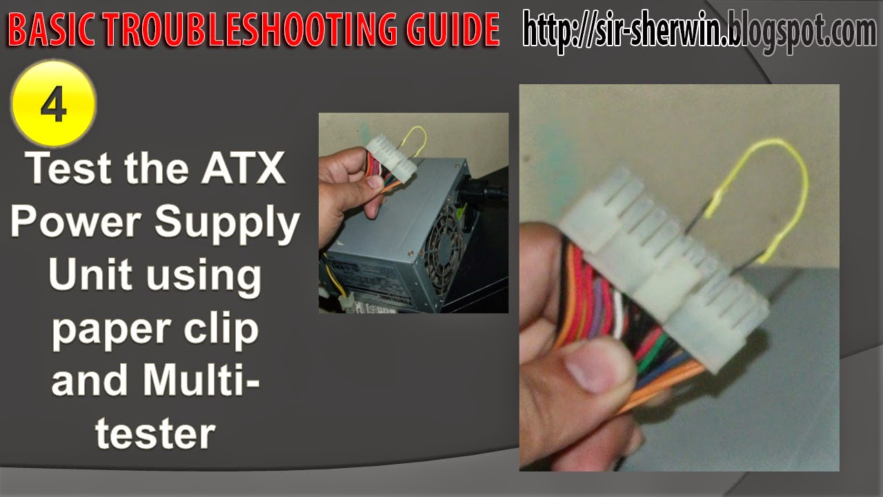 Cute Pc Power Supply Troubleshooting Guide Pictures Inspiration ...