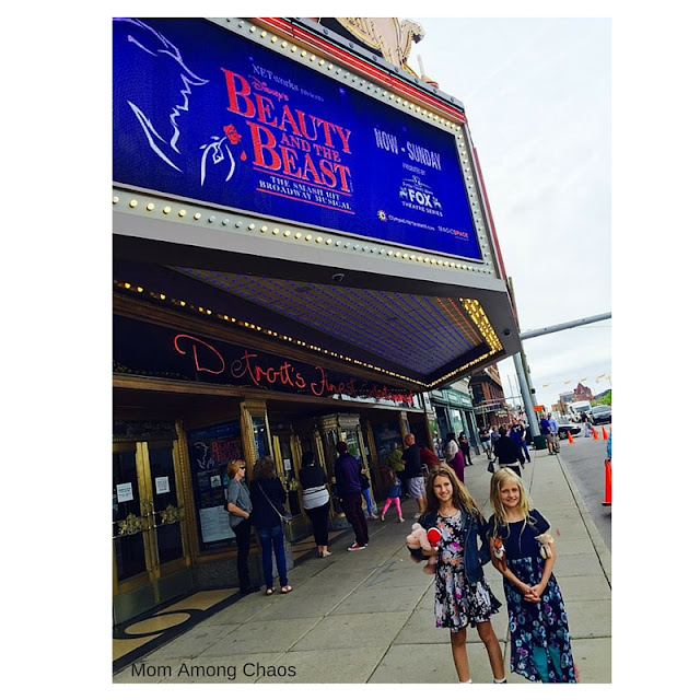 Fox Theater, Detroit, things to do, theater, live, Beauty and the Beast, review