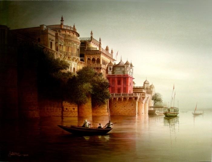 Индийский художник. Amit Bhar