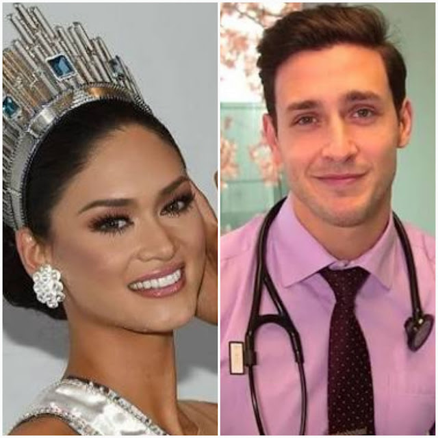 Pia Wurtzbach and Mikhail Varshavsky