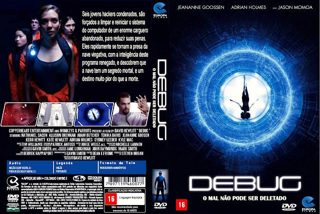 Capa DVD Debug O Mal Não Pode Ser Deletado