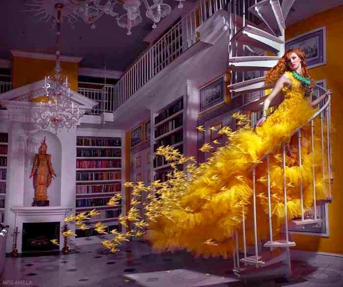 Границы между искусством, фотографией и модой. Miss Aniela (фотограф)