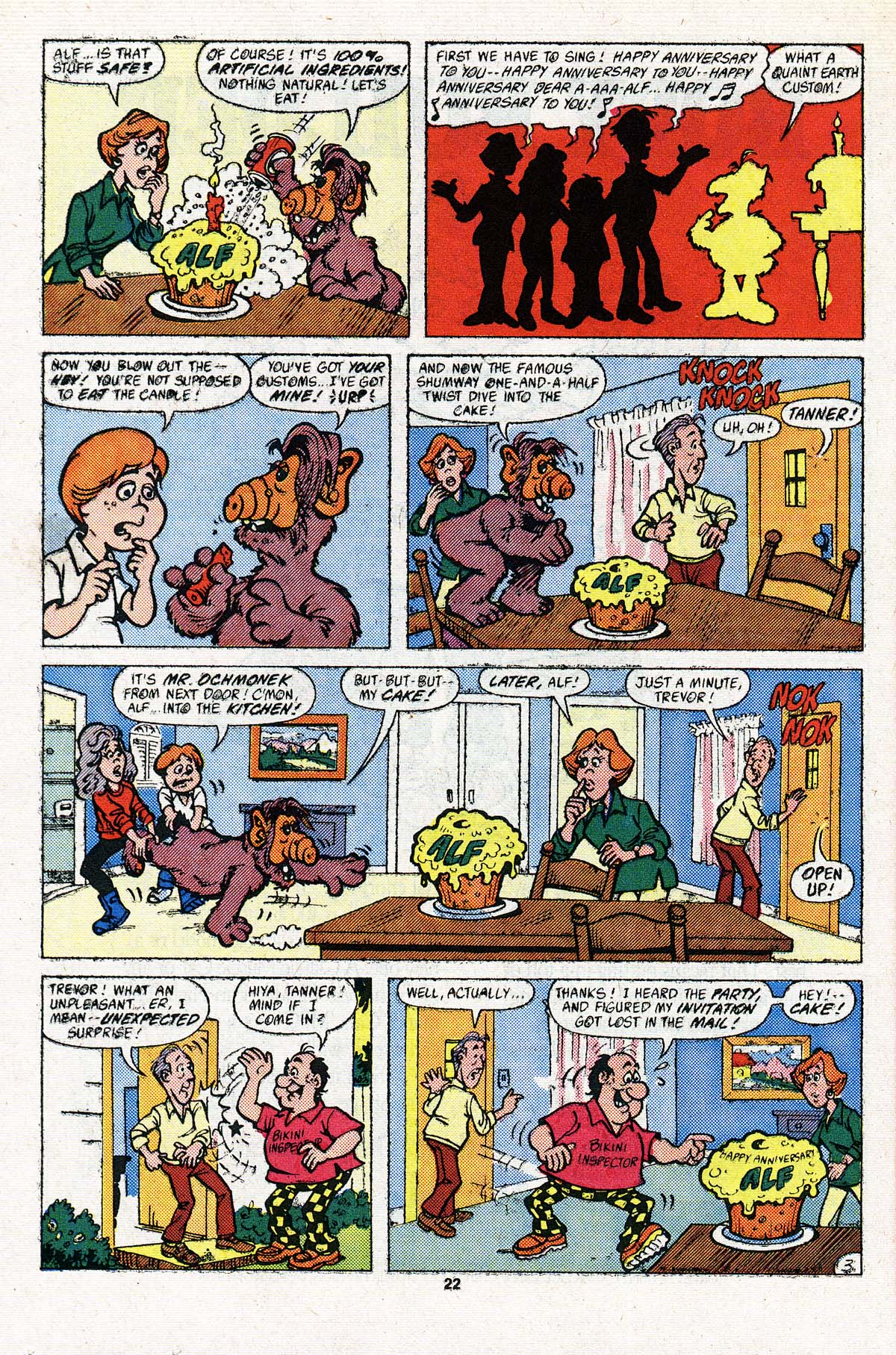 Read online ALF comic -  Issue #3 - 18