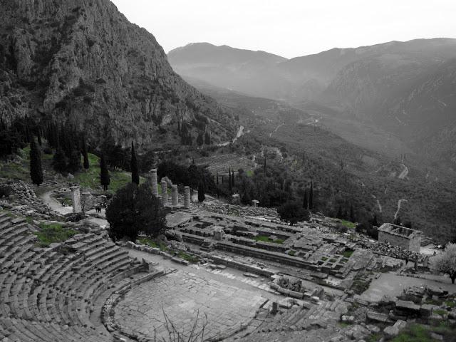Ruinas del Oráculo de Delfos