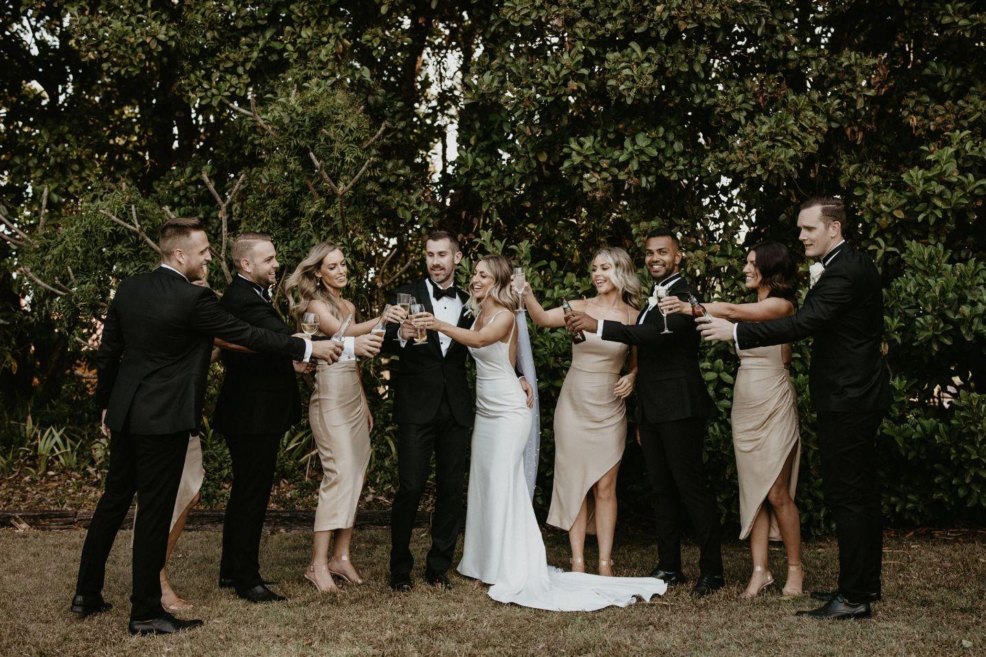 LOVE STORY: LEON + MELISSA   NEWRYBAR DOWNS + BEACH RESTAURANT WEDDING BYRON BAY NSW
