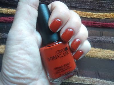 CND Vinylux Weekly Polish Craft Culture - Brick Knit