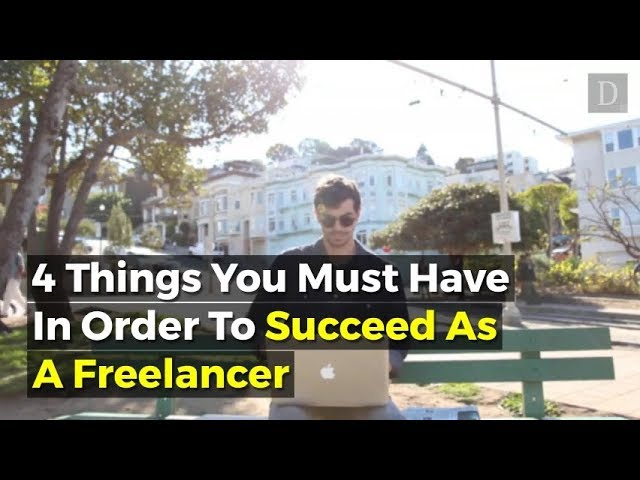 Becoming a freelancer is often a difficult and intimidating task. Here are some things you must do in order to achieve greatness on your own terms.