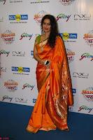 Marath Actrss Urmila Kanitkar Celetes Gudi Padwa in Orange Saree 05.JPG