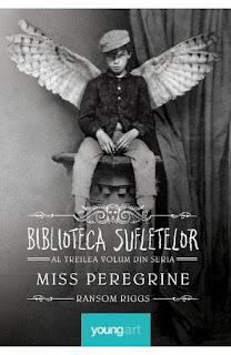 Poti cumpara al 3-lea  volum din seria Miss Peregrine