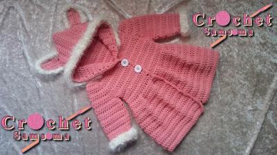 كروشيه معطف  . جاكيت كروشيه لكل المفاسات  . كروشيه جاكيت . كروشيه كارديجان . Crochet cardigan for beginners  . crochet jacket for any size