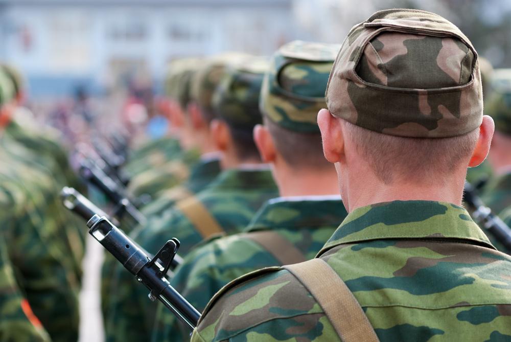 military hair style