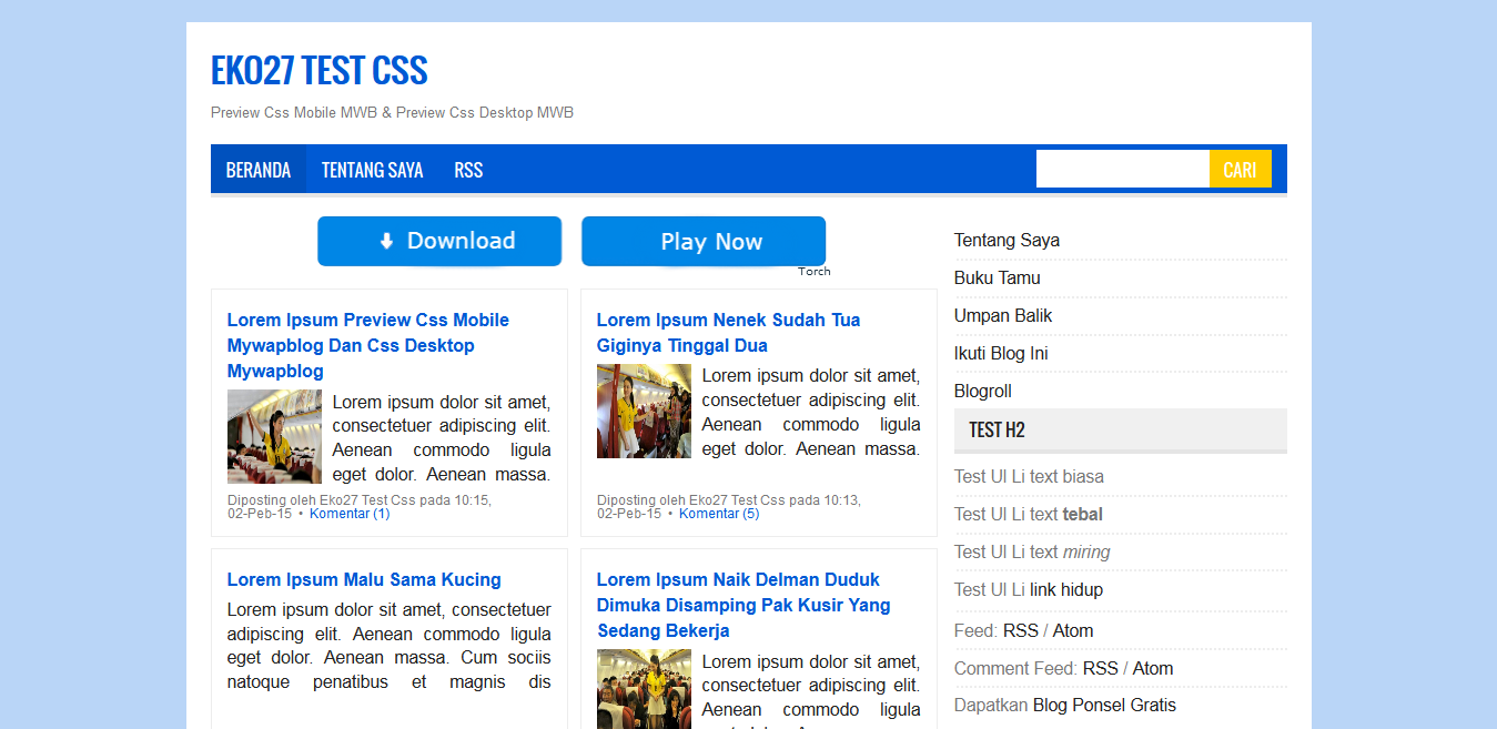 Mas Sugeng Template Mywapblog