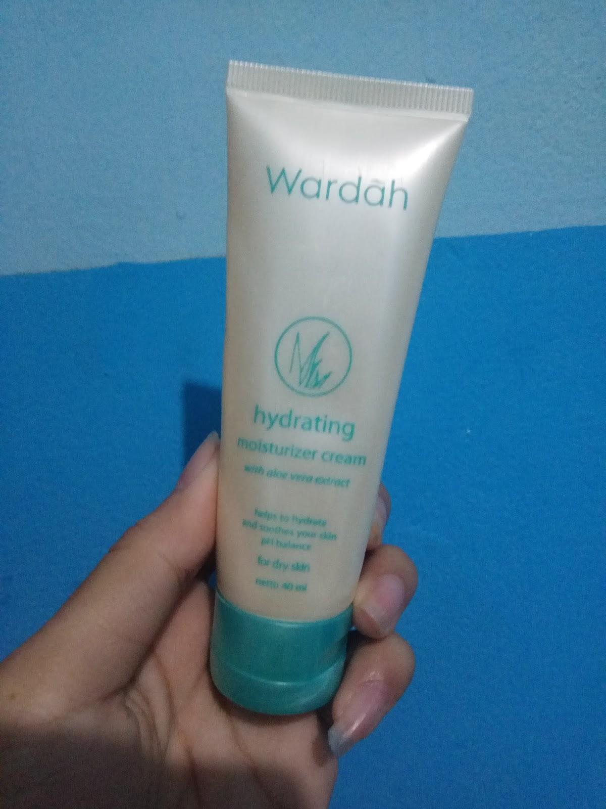 tahu Tempe: Wardah Hydrating Moisturizer Cream untuk ...