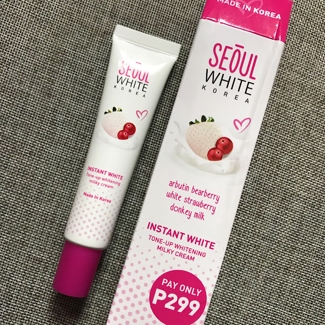 Senka White Beauty Lotion Ii Review: New K-Beauty Product: Seoul White Korea Instant White Tone
