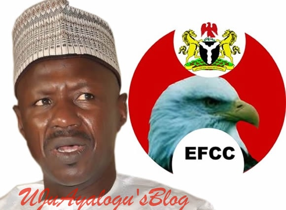 Suspected HUGE MONEY Buried In Soak-away: Security Agents Invade Magu's Uncompleted Building As Cabals, Senate Plot To Sack EFCC Boss At All Cost Thickens