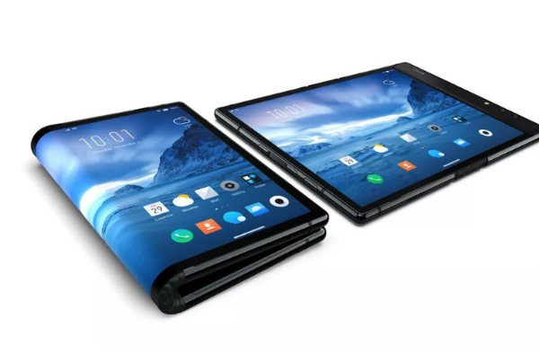 Video: Chinese company surprise Samsung and offers the first phone with folding screen