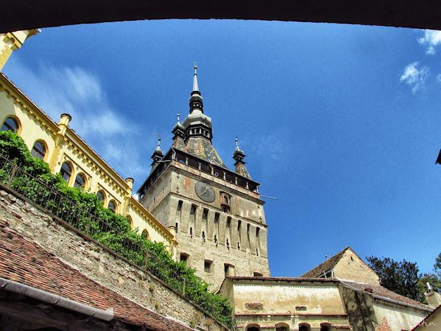 Sighişoara - Turnul cu ceas- blogul FOTO-IDEEA