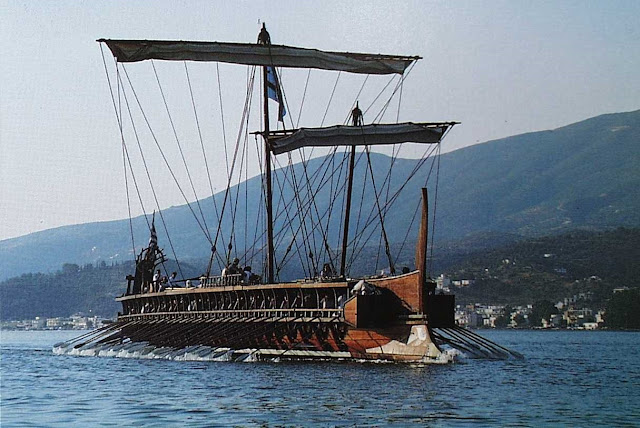 The Trireme 'Olympias' to sail once again in July & September