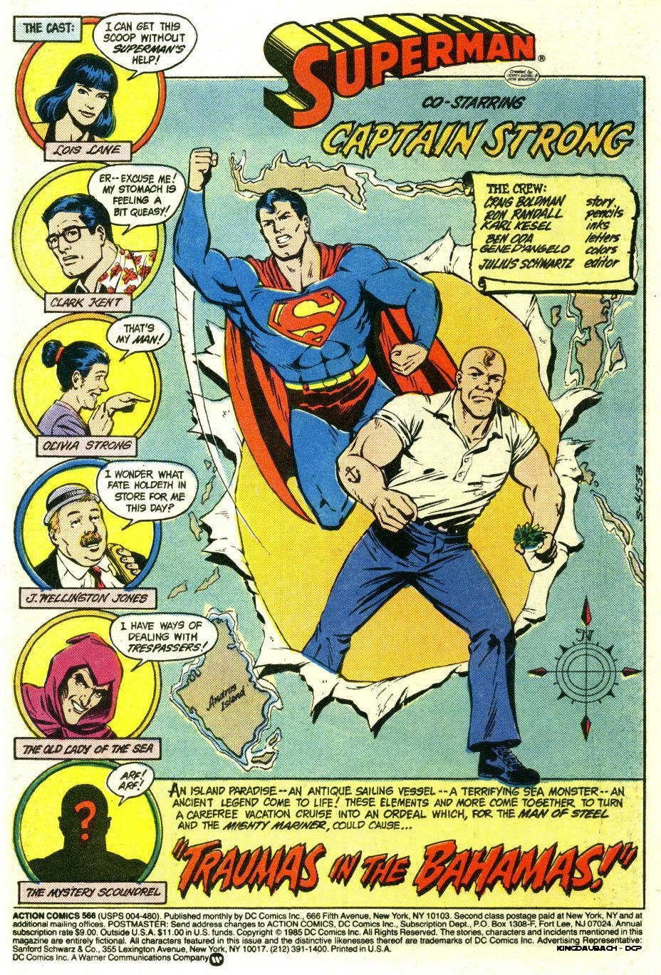 Read online Action Comics (1938) comic -  Issue #566 - 2