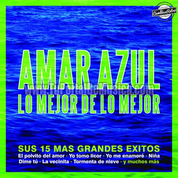 Amar Azul - Lo Mejor De Lo Mejor (2009)