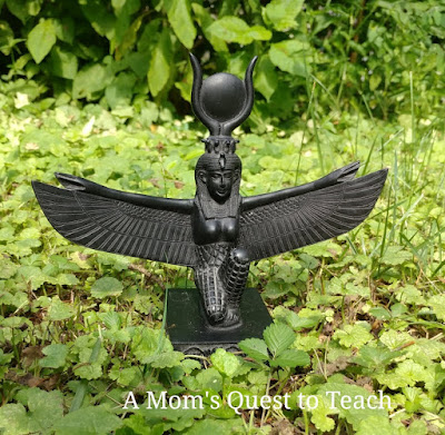Statue of goddess Isis