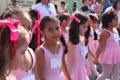 Grupo de ballet da Academia Municipal convida o público para apresentação no sábado 09/12