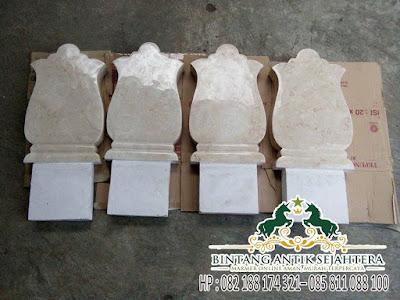 Jual Batu Nisan Marmer | Jenis Nisan Marmer