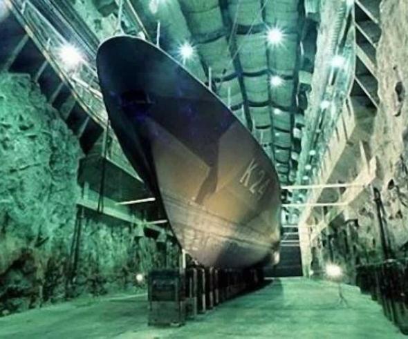 Швеція перенесе штаб ВМС у підземну фортецю