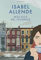 Más Allá del Invierno una novela de Isabel Allende, ficción literaria, lista de lectura de invierno