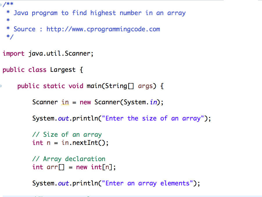 Java Program to Count the Number of Occurrence of an Element in an Array