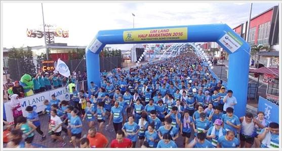 Kemeriahan IJM Land Half Marathon 2016 Di Dataran Centrio Seremban 2