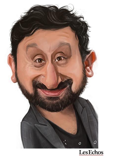 caricature cyril hanouna