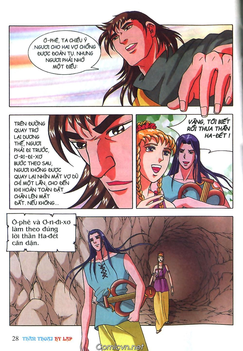 Thần Thoại Hy Lạp Màu - Chapter 40: Chuyện tình buồn của chàng Ô phê - Pic 28