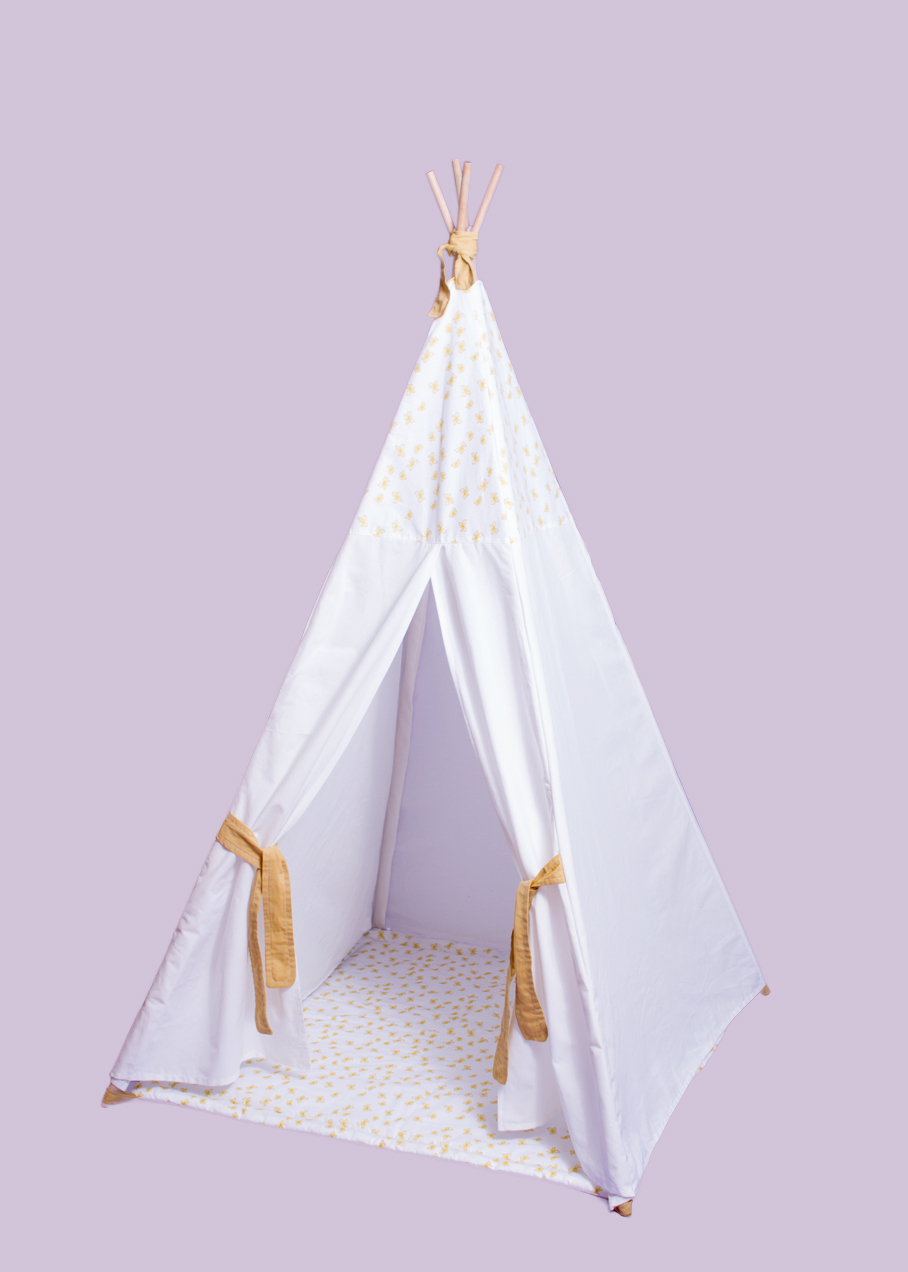 fabric teepee pattern instructions charmed by ashley. Black Bedroom Furniture Sets. Home Design Ideas