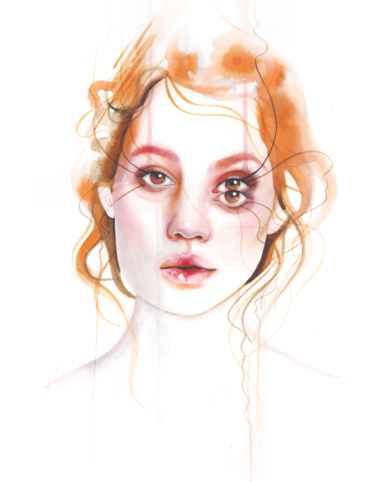 Watercolor Paintings by Monica Loya