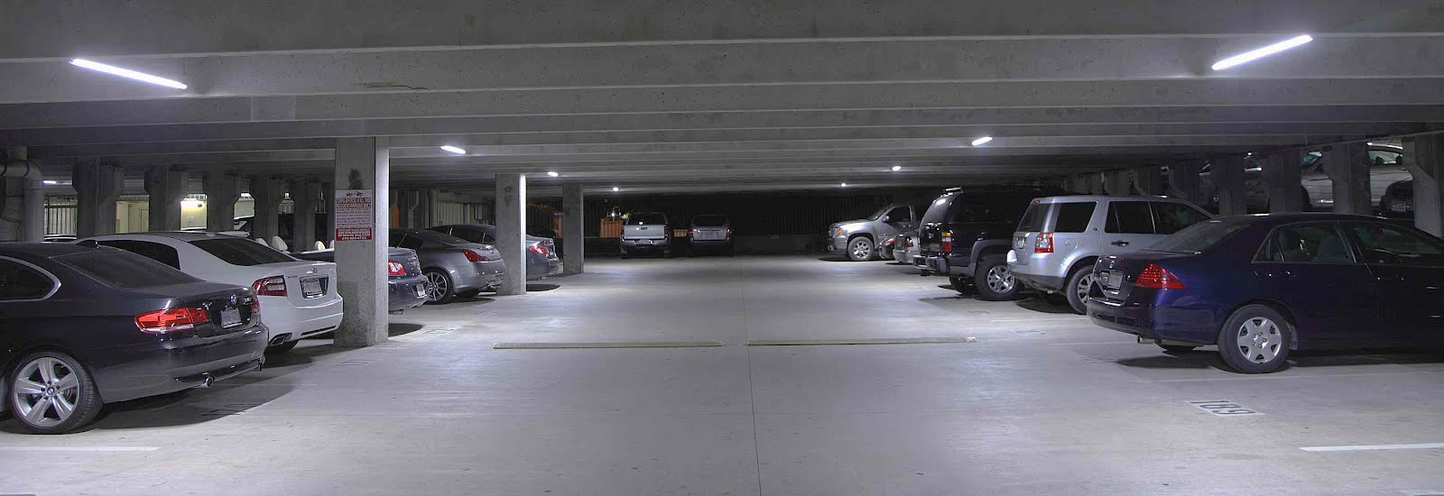 Parkade Amp Underground Parking Led Lighting Retrofit In